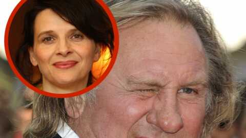 Gérard Depardieu s'en prend violemment à Juliette Binoche