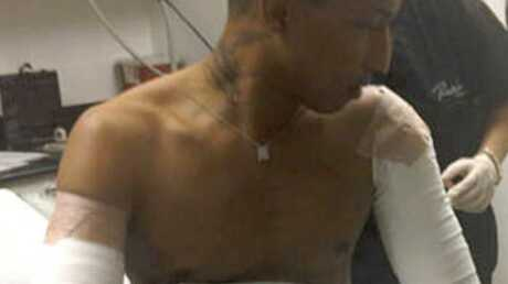 Pharrell Williams retire les tatouages de ses bras