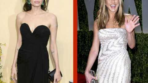 VIDEO Angelina Jolie rit aux blagues de Jennifer Aniston aux Oscars