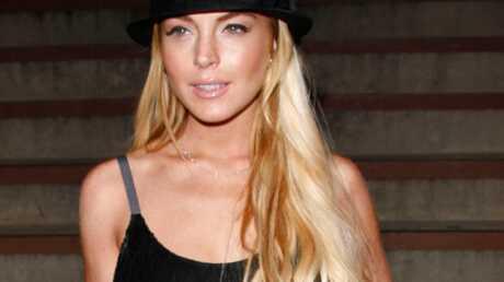Lindsay Lohan zappe son père