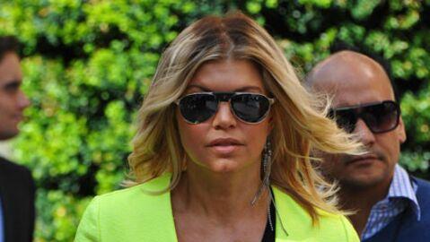 LOOK Fergie des Black Eyed Peas pleine de pep's à Paris