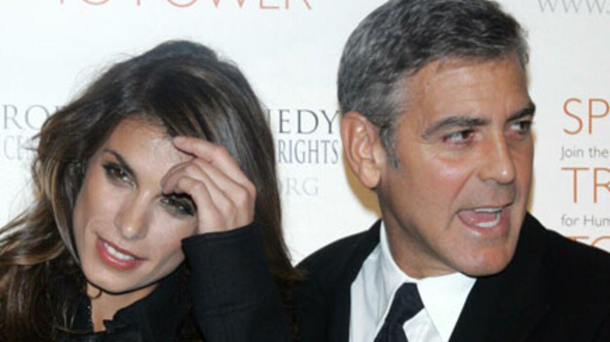 Elisabetta Canalis: George Clooney à l'origine de la rupture!