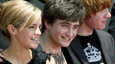 Harry, Hermione et Ron chez le Roi de la Pop