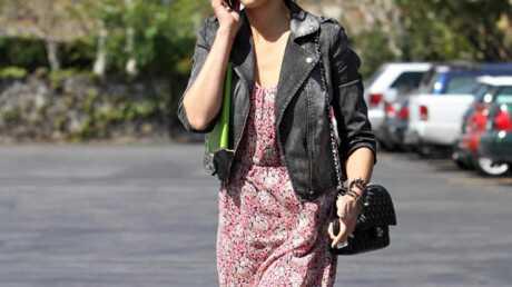 LOOK Jessica Alba met de la fantaisie dans son style