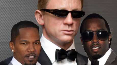 P Diddy et Jamie Foxx : James Bond 007 black ?