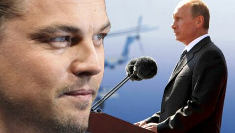 Leonardo DiCaprio félicité par Vladimir Poutine