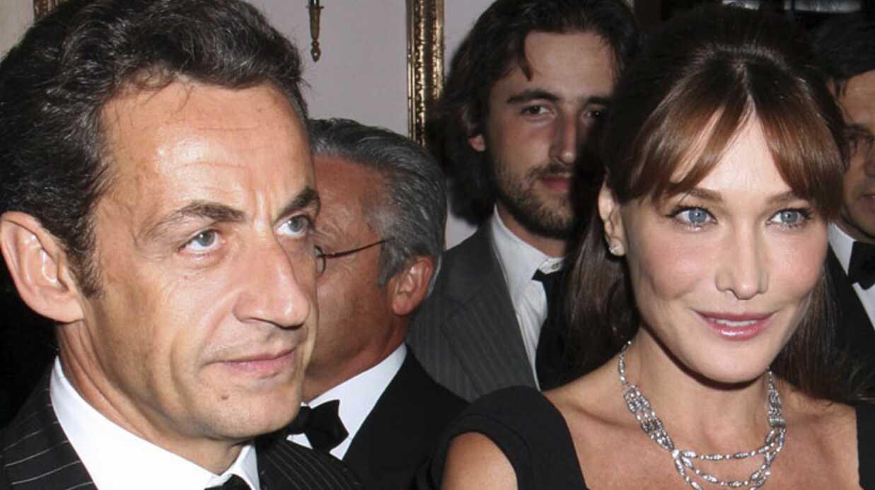 Nicolas Sarkozy et Carla chez Cécilia et Richard Attias