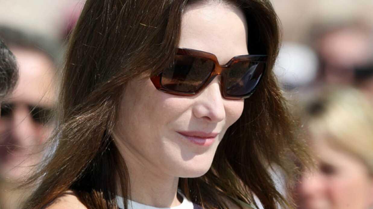 La venue de Carla Sarkozy est un événement en Espagne