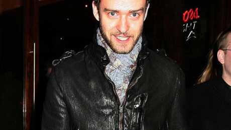 Justin Timberlake Débordant d'amour!