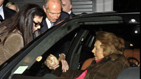 Liliane Bettencourt: retrouvailles médiatiques avec sa fille