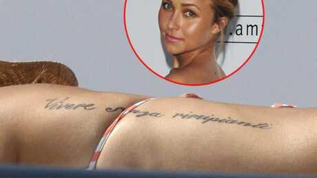 Hayden Panettiere: une faute d'orthographe sur son tatouage