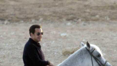 Nicolas Sarkozy traumatisé par l'accident équestre de Christopher Reeve