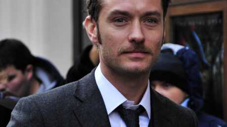 PHOTO : Jude Law porte la moustache