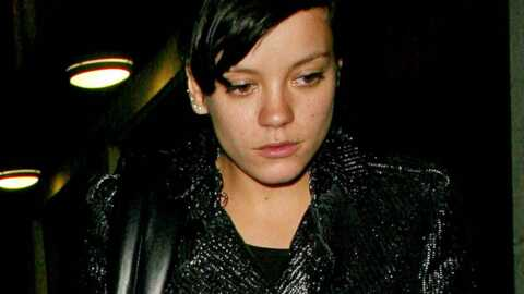Lily Allen : son petit ami la menace