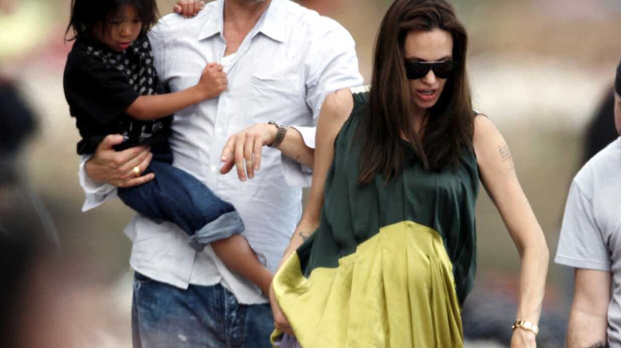 Brad Pitt et Angelina Jolie quittent la France