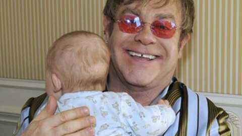 Elton John: son lait maternel a un bilan carbone desastreux