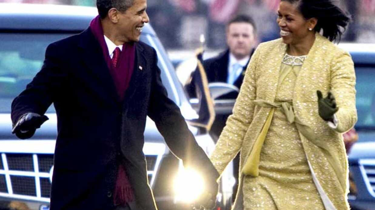 La fameuse robe jaune de Michelle Obama en vente