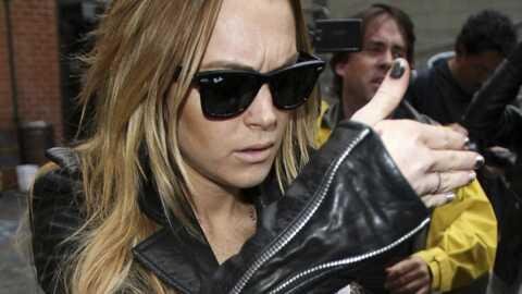 Lindsay Lohan filmée à son insu par une caméra de surveillance