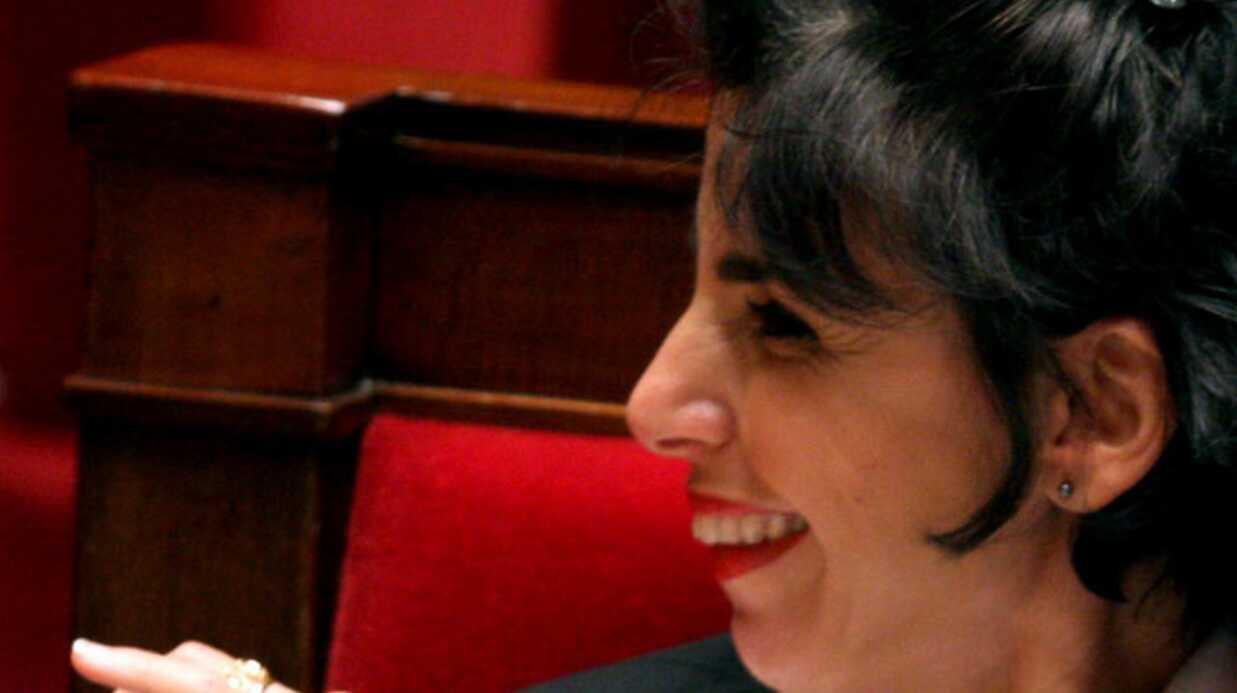 Rachida Dati s'amuse à l'Assemblée Nationale