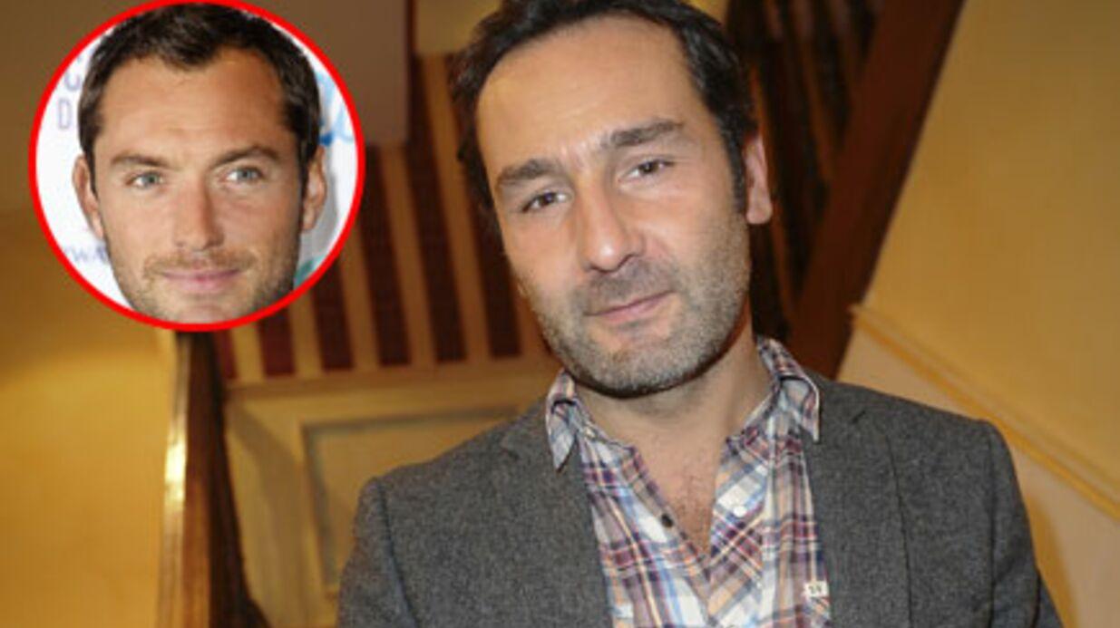 Gilles Lellouche avec Jude Law dans Sherlock Homes 2