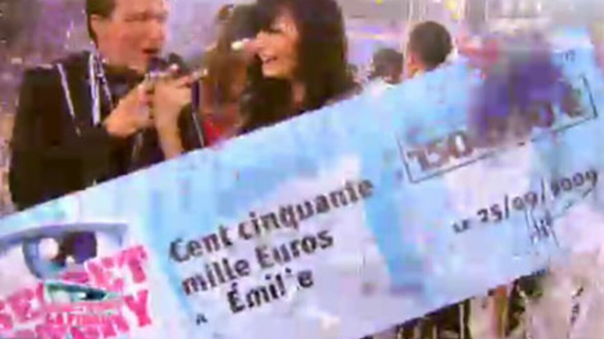 Secret Story 3: Emilie a gagné les 150.000 euros