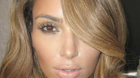 PHOTO Kim Kardashian en blonde, on dirait Jennifer Lopez
