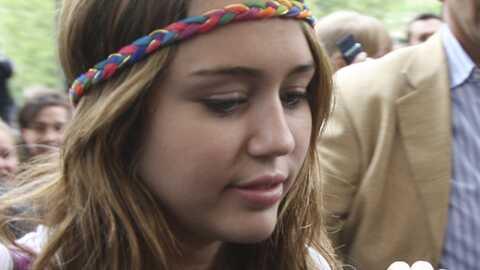 Miley Cyrus en promotion à Paris pour le film Hannah Montana