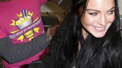 Lindsay Lohan égérie d'une marque de milkshakes
