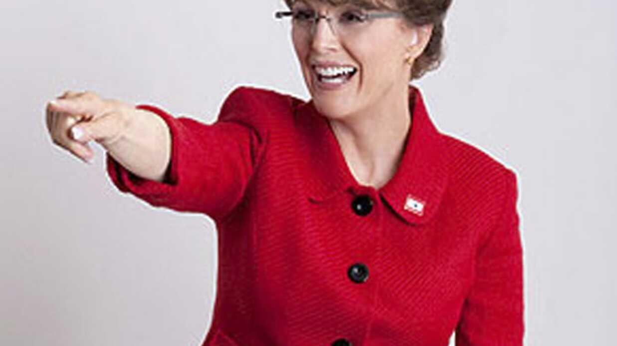 Julianne Moore en Sarah Palin