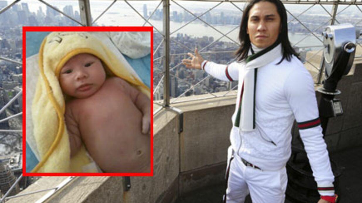 Black Eyed Peas: Taboo papa pour la troisième fois
