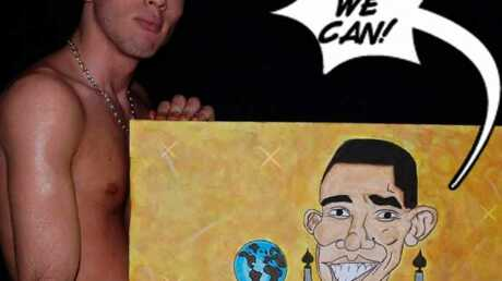 EXCLU Secret Story: Quentin pose nu avec Barack Obama