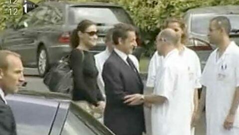 Nicolas Sarkozy est sorti de l'hôpital