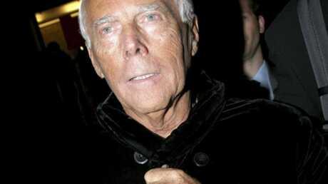 Giorgio Armani atteint d'une hépatite