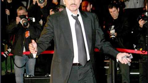 Johnny Hallyday en tournage en Chine