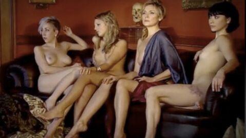 Kim Cattrall nue pour la bonne cause