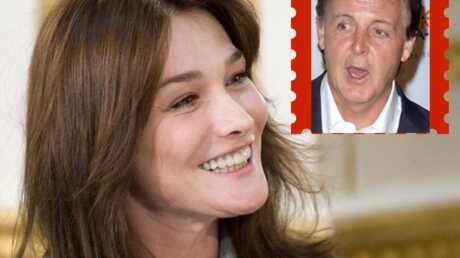 Pour les Anglais, Carla Bruni-Sarkozy passe après Paul McCartney