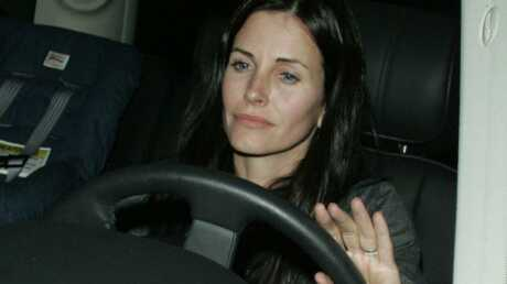 Courteney Cox victime d'un accident de voiture