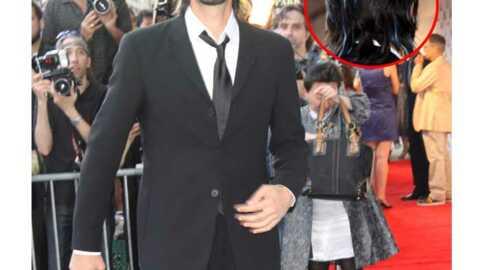 LOOK  Adrien Brody a les cheveux bleus