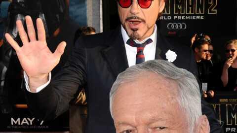 Robert Downey Jr: après Iron Man 2, Hugh Hefner