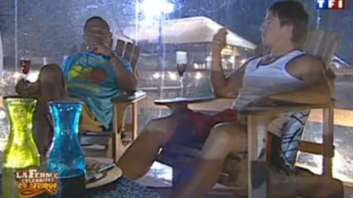 La ferme célébrités 3: Mickaël et Francky dans leur bulle