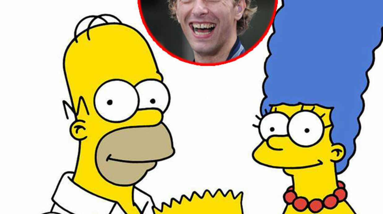 Chris Martin dans Les Simpson