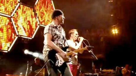 VIDEO Muse rejoint par The Edge de U2 à Glastonbury