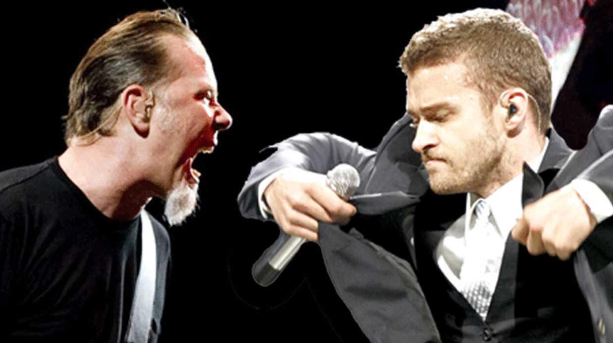 Justin Timberlake harcelé par la même femme que Metallica
