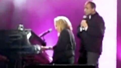 Jean-François Copé en duo avec Véronique Sanson