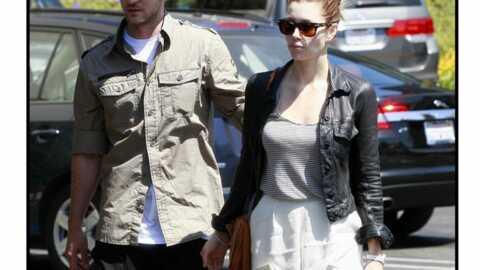 Jessica Biel et Justin Timberlake unis dans l'effort