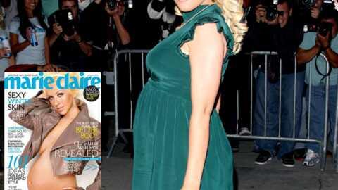 Christina Aguilera Elle se met à nu pour Marie Claire