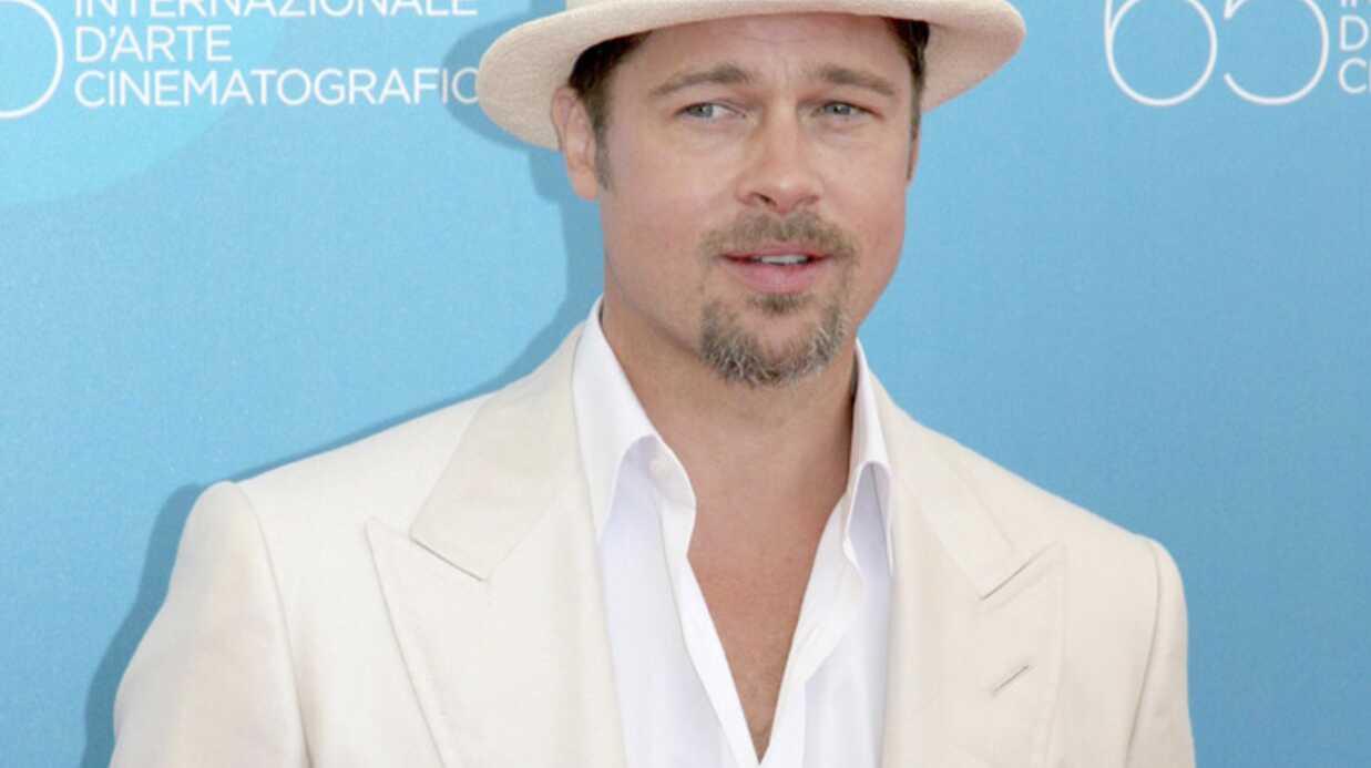 Brad Pitt au secours de l'un de ses fans