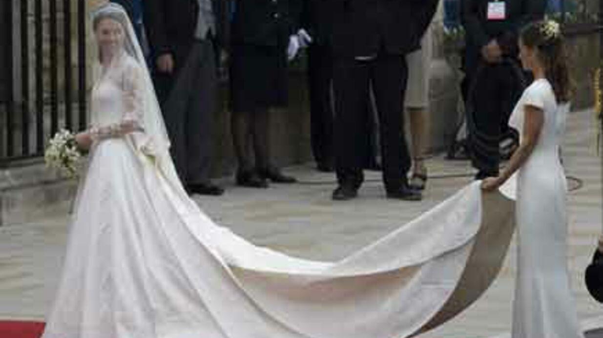 Kate Middleton  une robe de mariée à 35 000 euros