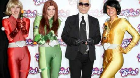Karl Lagerfeld prête sa voix dans Totally Spies