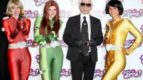 Karl Lagerfeld prête sa voix dans Totally Spies